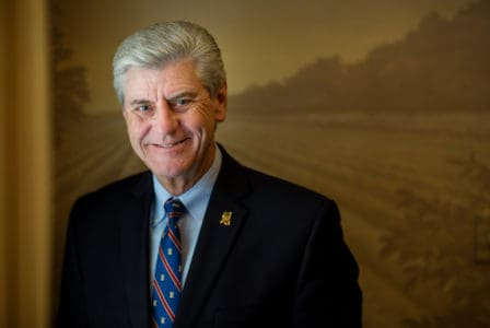 Image for Mississippi Governor Phil Bryant Honored with Governor of the Year Award